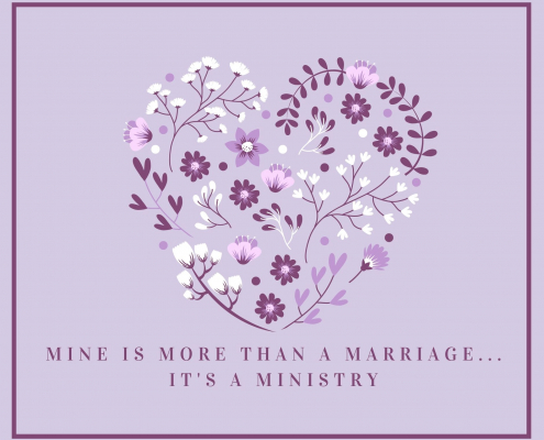 Marriage is a ministry